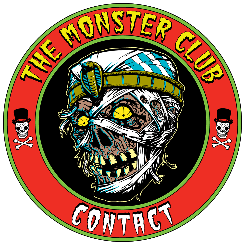 The Monster Club Contact Page